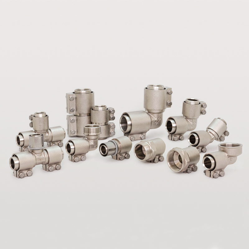Larg Size Clamp Fittings